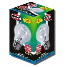 100W (150W Equiv) Edison Screw GLS Halogen Energy Saver