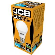 10W (60W) LED GLS Edison Screw Light Bulb Daylight White (6500K)