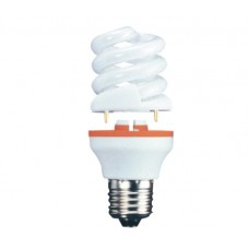 11w (60w) 2 Part Edison Screw Low Energy CFL Light Bulb - Cool White