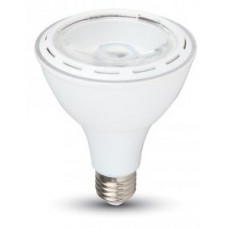 12W (60W) LED PAR30 Edison Screw Reflector Spotlight Daylight White 6000K