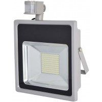 150W (1300W Equiv) LED Motion Sensor Security Floodlight Daylight White