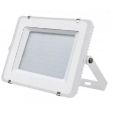 150W Slim Pro LED Security Floodlight Daylight White (White Case)