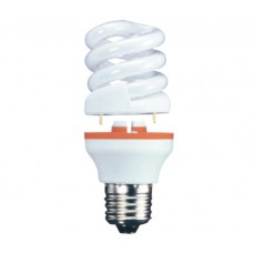 15w (75w) 2 Part Edison Screw Low Energy light bulb - Daylight