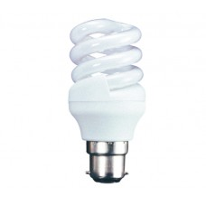 15w (75w) Bayonet Low Energy Spiral - Daylight (Quick Start)