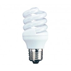 18w (100w) Edison Screw Energy Light Bulb - Warm White (Quick Start)