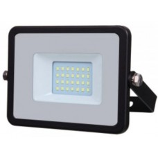 20W Slimline Premium High Lumen LED Floodlight Daylight White (6400K)