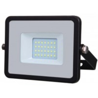 20W Slimline Premium High Lumen LED Floodlight Cool White (4000K)