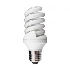 25w (120w) Edison Screw / E27 / ES Mini Spiral Low Energy Lamp in Warm White