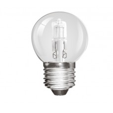 28W (40W Equiv) Edison Screw Halogen Golf Ball Light Bulb