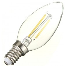 2W (25W) LED Filament Candle - Small Edison Screw in Daylight