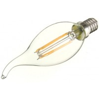 2W (25W) LED Flame Tip Candle - Small Edison Screw in Daylight