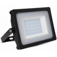 30W Slimline Premium High Lumen LED Floodlight Warm White