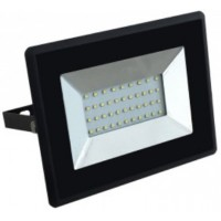30W Slimline Premium High Lumen SMD LED Floodlight Warm White