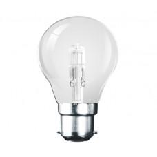 42W (60W Equiv) Bayonet Eco Halogen GLS Light Bulb