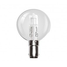 42W (60W Equiv) Small Bayonet Eco Halogen Golf Ball Light Bulb