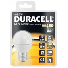 4W (25 Watt) LED Golf Ball Edison Screw Light Bulb in Warm White by Duracell