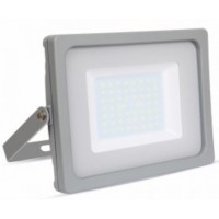 50W Slimline Premium LED Floodlight Warm White (Grey Case)