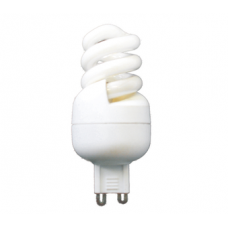 5W (25W) G9 Energy Saving CFL Spiral Light Bulb in Warm White