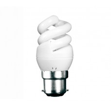 5w (25w) Bayonet Extra Mini Low Energy Spiral (Daylight)
