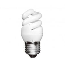 5w (25w) Edison Screw Extra Mini Low Energy Spiral (Warm White)