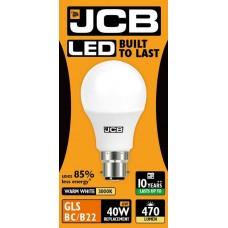 6W (40W) LED GLS Bayonet Light Bulb Warm Whiite (3000K)