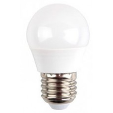 6W (40 Watt) LED Golf Ball Edison Screw Light Bulb in Natural Cool White