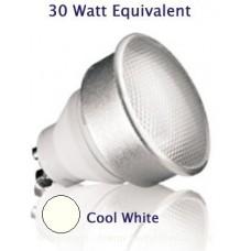 7W (30W Halogen Equiv) GU10 Kosnic Low Energy Spotlight Cool White