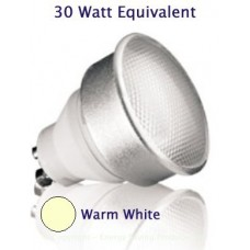 7W (30W Halogen Equiv) GU10 Kosnic Low Energy Spotlight - Warm White