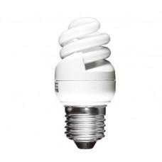 8w (40w) Edison Screw Ultra Mini Low Energy Light Bulb (Warm White)