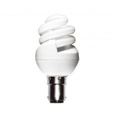 8w (40w) Small Bayonet Ultra Mini Low Energy Light Bulb (Warm White)