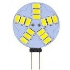 G4 12V - 15 LED (5630 SMD) Circular Shape in Daylight White