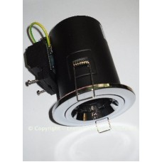 GU10 Chrome Fire Rated Energy Saving Downlight