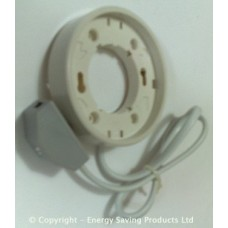 GX53 Low Energy Saving Surface Mount Fitting (White)