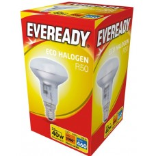 Eco Halogen R50 28W (40W Equiv) E14 SES Reflector Low Energy Light Bulb