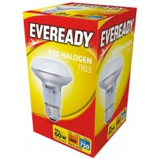 Eco Halogen R63 42W (60W Equiv) Edison Screw Reflector Light Bulb
