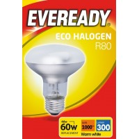 Eco Halogen R80 46W (60 Watt) Edison Screw Reflector Spotlight