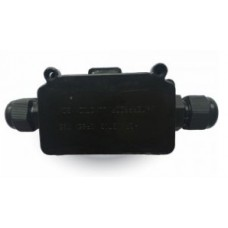 Black Waterproof Box With Terminal Block (Cable Extender)